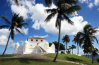 montserrat fort in the beautiful city of salvador in bahia state brazil