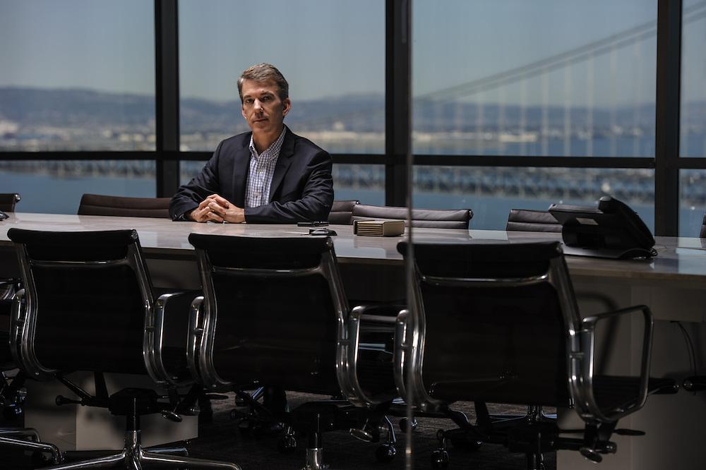 Portrait of Bill Nolan in the boardroom of Passport Capital in San Francisco, CA | Hedge Fund Journal (UK)