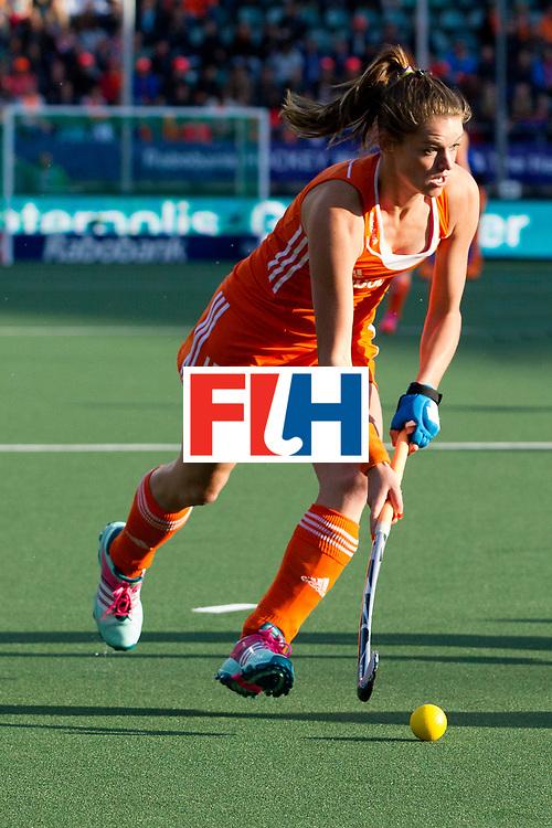 THE HAGUE - Rabobank Hockey World Cup 2014 - 2014-06-05 - WOMEN - New-Zealand - The Netherlands - Lidewij Welten<br /> Copyright: Willem Vernes