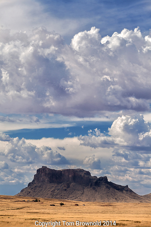 Elephant butte on the Navajo reservation on Indian route 60.