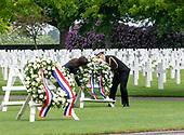 Koning aanwezig bij Memorial Day in Margraten