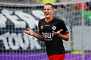 Onderwerp/Subject: SC Excelsior - Eredivisie<br /> Reklame:  <br /> Club/Team/Country: <br /> Seizoen/Season: 2014/2015<br /> FOTO/PHOTO: Jeff STANS of SC Excelsior celebrating his goal a penalty ( 1 - 1 ). (Photo by PICS UNITED)<br /> <br /> Trefwoorden/Keywords: <br /> #02 #04 #09 $94 ±1401918822084<br /> Photo- & Copyrights © PICS UNITED <br /> P.O. Box 7164 - 5605 BE  EINDHOVEN (THE NETHERLANDS) <br /> Phone +31 (0)40 296 28 00 <br /> Fax +31 (0) 40 248 47 43 <br /> http://www.pics-united.com <br /> e-mail : sales@pics-united.com (If you would like to raise any issues regarding any aspects of products / service of PICS UNITED) or <br /> e-mail : sales@pics-united.com   <br /> <br /> ATTENTIE: <br /> Publicatie ook bij aanbieding door derden is slechts toegestaan na verkregen toestemming van Pics United. <br /> VOLLEDIGE NAAMSVERMELDING IS VERPLICHT! (© PICS UNITED/Naam Fotograaf, zie veld 4 van de bestandsinfo 'credits') <br /> ATTENTION:  <br /> © Pics United. Reproduction/publication of this photo by any parties is only permitted after authorisation is sought and obtained from  PICS UNITED- THE NETHERLANDS