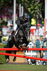 Azcarraga Jaime (MEX) - Presley Boy<br /> CN International Grand Prix<br /> Spruce Meadows Masters - Calgary 2009<br /> © Dirk Caremans