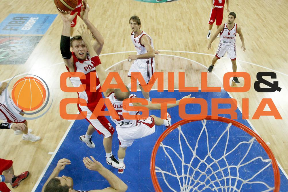 DESCRIZIONE : Wroclaw Poland Polonia Eurobasket Men 2009 Preliminary Round  Polonia Turchia Poland Turkey<br /> GIOCATORE : Krzysztof Szubarga<br /> SQUADRA : Polonia Poland<br /> EVENTO : Eurobasket Men 2009<br /> GARA : Polonia Turchia Poland Turkey<br /> DATA : 09/09/2009 <br /> CATEGORIA : tiro special<br /> SPORT : Pallacanestro <br /> AUTORE : Agenzia Ciamillo-Castoria/E.Castoria