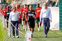 Luis CAMPOS / Leonardo JARDIM / Vadim VASILYEV  - 29.06.2015 - Reprise Entrainement de Monaco  - 2015/2016<br />Photo : Jc Magnenet / Icon Sport