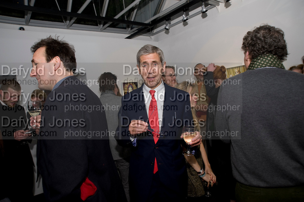 SIR STUART ROSE, Miles Aldridge exhibition. Hamiltons. Carlos Place, London.  31 March 2009