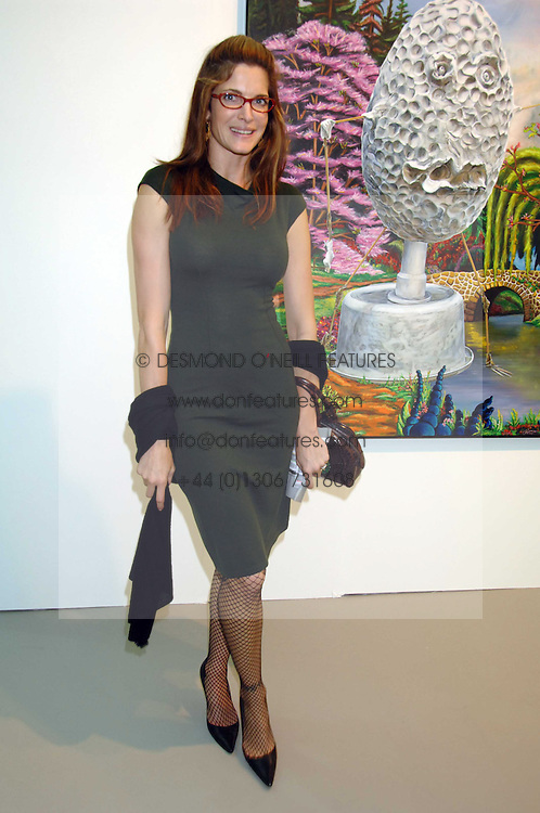 Model STEPHANIE SEYMOUR at the opening of Frieze Art Fair 2007 held in regent's Park, London on 10th October 2007.<br /><br />NON EXCLUSIVE - WORLD RIGHTS