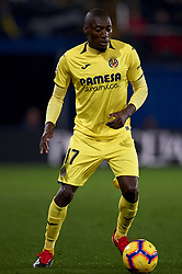 January 3, 2019 - Villarreal, Castellon, Spain - Toko Ekambi of Villarreal during the week 17 of La Liga match between Villarreal CF and Real Madrid at Ceramica Stadium in Villarreal, Spain on January 3 2019. (Credit Image: © Jose Breton/NurPhoto via ZUMA Press)