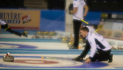 Glasgow. SCOTLAND.Scotland Glen MUIRHEAD, through a diffuser lens, during the, Le Gruyère European Curling Championships. 2016 Venue, Braehead  Scotland<br /> Sunday  20/11/2016<br /> <br /> [Mandatory Credit; Peter Spurrier/Intersport-images]