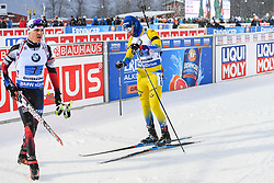 March 16, 2019 - –Stersund, Sweden - 190316 Sebastian Samuelsson of Sweden looks dejected after the Men's 4x7,5 km Relay during the IBU World Championships Biathlon on March 16, 2019 in Östersund..Photo: Petter Arvidson / BILDBYRÃ…N / kod PA / 92269 (Credit Image: © Petter Arvidson/Bildbyran via ZUMA Press)