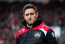 Bristol City manager Lee Johnson looks on - Rogan Thomson/JMP - 04/03/2017 - FOOTBALL - Ashton Gate - Bristol, England - Bristol City v Burton Albion - Sky Bet EFL Championship.