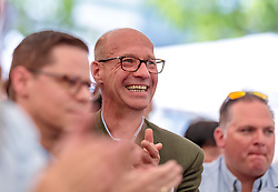 21.04.2018, Kuglhof, Salzburg, AUT, Landtagswahl in Salzburg 2018, FPOe Wahlkampfschlussveranstaltung, im Bild Reinhard Rebhandl (FPOe) // Reinhard Rebhandl (FPOe) during a campaign event of the FPOe Party for the State election in Salzburg 2018. Kuglhof in Salzburg, Austria on 2018/04/21. EXPA Pictures © 2018, PhotoCredit: EXPA/ JFK