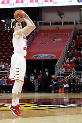 22 December 2015: Justin McCloud(15). Illinois State Redbirds host the Tennessee State Tigers at Redbird Arena in Normal Illinois (Photo by Alan Look)