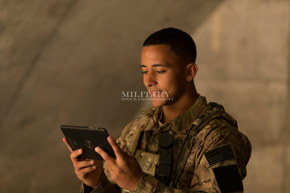 Military Stock Photograph