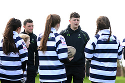Jonny Arr and community coaches deliver coaching sessions at Stourbridge RFC  - Mandatory by-line: Dougie Allward/JMP - 19/03/2017 - Rugby - Stourbridge RFC - Stourbridge, England - Worcester Warriors Community Rugby