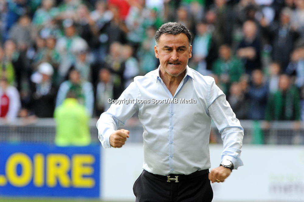 Christophe GALTIER - 26.04.2015 - Saint Etienne / Montpellier - 34eme journee de Ligue 1<br />Photo : Jean Paul Thomas / Icon Sport