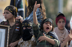 October 21, 2016 - Gaza, gaza strip, Palestine - Palestinians attend a rally marking the 29th anniversary of the foundation of the Islamic Jihad movement in Gaza City October 21, 2016. (Credit Image: © Majdi Fathi/NurPhoto via ZUMA Press)