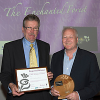 Scottish Thistle Awards Regional Final for Tayside & North East Scotland...<br /> ScotRail Best Cultural Event Award to The Enchanted Forest.<br /> Picture by Graeme Hart.<br /> Copyright Perthshire Picture Agency<br /> Tel: 01738 623350  Mobile: 07990 594431