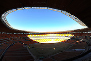 The inside of the stadium during the construction of Soccer City Stadium, Johannesburg - venue for FIFA 2010 South Africa World Cup Final.