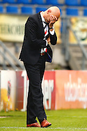Onderwerp/Subject: Willem II - Eredivisie<br /> Reklame:  <br /> Club/Team/Country: <br /> Seizoen/Season: 2012/2013<br /> FOTO/PHOTO: Coach Jurgen STREPPEL of Willem II dejected. (Photo by PICS UNITED)<br /> <br /> Trefwoorden/Keywords: <br /> #03 $94 &plusmn;1355244121349<br /> Photo- &amp; Copyrights &copy; PICS UNITED <br /> P.O. Box 7164 - 5605 BE  EINDHOVEN (THE NETHERLANDS) <br /> Phone +31 (0)40 296 28 00 <br /> Fax +31 (0) 40 248 47 43 <br /> http://www.pics-united.com <br /> e-mail : sales@pics-united.com (If you would like to raise any issues regarding any aspects of products / service of PICS UNITED) or <br /> e-mail : sales@pics-united.com   <br /> <br /> ATTENTIE: <br /> Publicatie ook bij aanbieding door derden is slechts toegestaan na verkregen toestemming van Pics United. <br /> VOLLEDIGE NAAMSVERMELDING IS VERPLICHT! (&copy; PICS UNITED/Naam Fotograaf, zie veld 4 van de bestandsinfo 'credits') <br /> ATTENTION:  <br /> &copy; Pics United. Reproduction/publication of this photo by any parties is only permitted after authorisation is sought and obtained from  PICS UNITED- THE NETHERLANDS