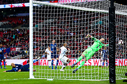 Callum Wilson of England scores a goal to make it 3-0 - Mandatory by-line: Robbie Stephenson/JMP - 15/11/2018 - FOOTBALL - Wembley Stadium - London, England - England v United States of America - International Friendly
