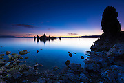 Dawn light over tufa at Mono Lake, Mono Basin National Scenic Area, California USA