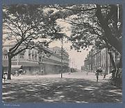 Opnamedatum:  2013-08-08<br /> Corner of York Street en Chatham Street, Colombo, A.W Plate & Co., c. 1900 - c. 1920