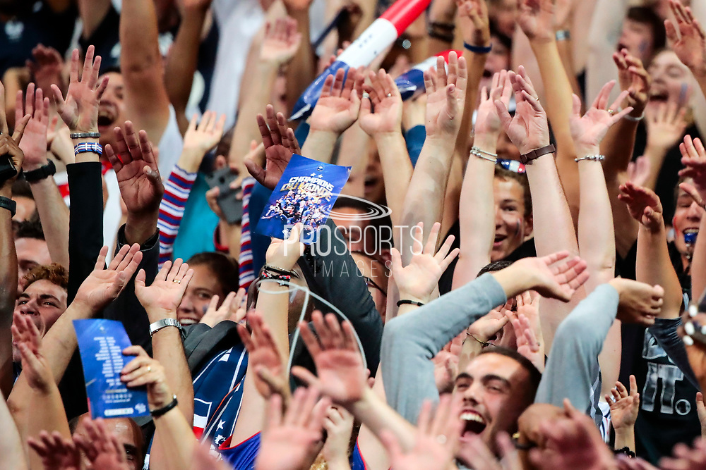 Illustration of the flyer in supporter hand in stand during the UEFA Nations League, League A, Group 1 football match between France and Netherlands on September 9, 2018 at Stade de France stadium in Saint-Denis near Paris, France - Photo Stephane Allaman / ProSportsImages / DPPI