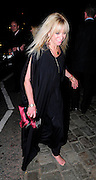 01.JULY.2010 - LONDON<br /> <br /> JO WOOD LEAVING THE ORANGERY, KENSINGTON PALACE WITH NO SHOES ON AFTER ATTENDING RANGE ROVERS 40TH ANNIVERSARY PARTY.<br /> <br /> BYLINE: EDBIMAGEARCHIVE.COM<br /> <br /> *THIS IMAGE IS STRICTLY FOR UK MAGAZINES AND WORLDWIDE SALES ONLY*<br /> *FOR WEB USE PLEASE CONTACT EDBIMAGEARCHIVE - 0208 954 5968*