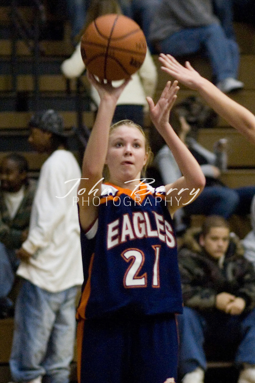 MCHS JV Girls Basketball .vs Clarke.January 31, 2007