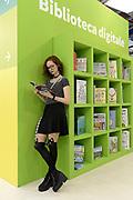 © Filippo Alfero<br /> Salone del Libro 2017<br /> Torino, 20/05/2017<br /> Nella foto: vitainsalto, una lettrice