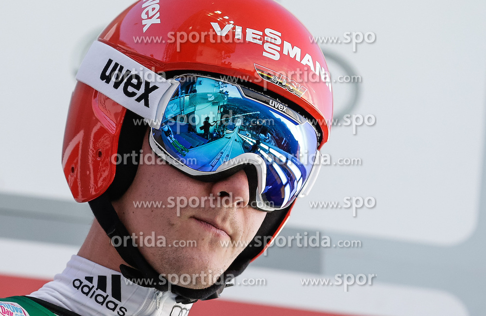 29.12.2015, Schattenbergschanze, Oberstdorf, GER, FIS Weltcup Ski Sprung, Vierschanzentournee, Probedurchgang, im Bild Stephan Leyhe (GER) // Stephan Leyhe of Germany during his Trial Jump for the Four Hills Tournament of FIS Ski Jumping World Cup at the Schattenbergschanze, Oberstdorf, Germany on 2015/12/29. EXPA Pictures © 2015, PhotoCredit: EXPA/ Peter Rinderer