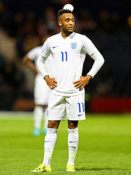 Nathan Redmond of England U21 - Mandatory byline: Matt McNulty/JMP - 07966386802 - 03/09/2015 - FOOTBALL - Deepdale Stadium -Preston,England - England U21 v USA U23 - U21 International