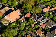 Nederland, Noord-Holland, Gemeente Medemblik, 07-05-2018; <br /> Het dorp Twisk, met kenmerkende stolp boerderijen, beschermd dorpsgezicht <br /> The village of Twisk, with characteristic farmhouses, protected heritage.<br /> <br /> luchtfoto (toeslag op standard tarieven);<br /> aerial photo (additional fee required);<br /> copyright foto/photo Siebe Swart