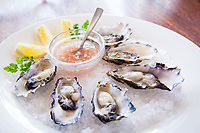 Oysters at Lalime's.