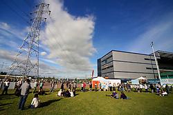 Bryan Adams fans gather outside Stadium - Mandatory by-line: Matt McNulty/JMP - 14/07/2017 - Sixways Stadium - Worcester, England