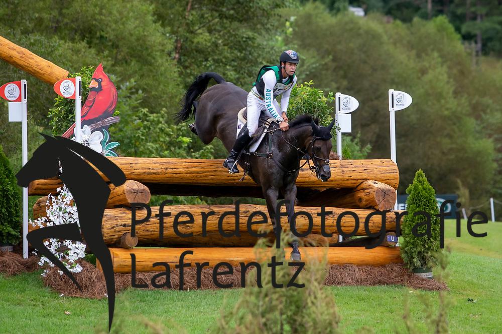 BURTON Christopher (AUS), Cooley Lands<br /> Tryon - FEI World Equestrian Games™ 2018<br /> Vielseitigkeit Teilprüfung Gelände/Cross-Country Team- und Einzelwertung<br /> 15. September 2018<br /> © www.sportfotos-lafrentz.de/Sharon Vandeput