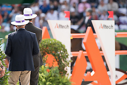 Fence judge - Show Jumping Final Four - Alltech FEI World Equestrian Games™ 2014 - Normandy, France.<br /> © Hippo Foto Team - Jon Stroud<br /> 07-09-14