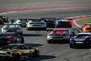 September 16-18, 2015 Lamborghini Super Trofeo, Circuit of the Americas: Start of round 7 at Circuit of the Americas