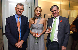 Left to right, MICHAEL WAINWRIGHT, model YASMIN LE BON and NICHOLAS WAINWRIGHT  at a party in aid of Age Concern hosted by Boodles, 1 Sloane Street, London on 31st October 2006.<br /><br />NON EXCLUSIVE - WORLD RIGHTS