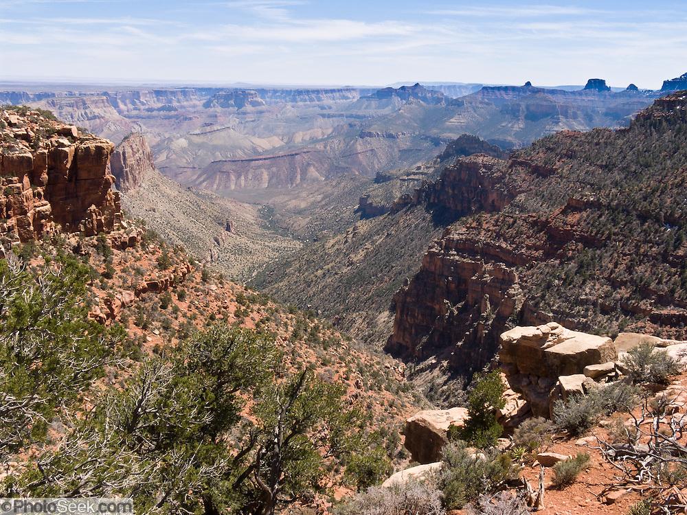 Nankoweap Canyon, North Rim of Grand Canyon National Park, Arizona, USA
