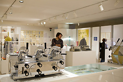 "Espresso coffèè machine ""la cornuta"" model 47, 1949; Macchina per il caffè espresso ""la cornuta"" modello 47; Gio Ponti; La Pavoni; Design and Made in Italy, seen from the designer's viewpoint Ron Arad and Paolo Guzzini; Rome, the Museum of the Ara Pacis - Disegno e Design, incontro con Ron Arad e Paolo Guzzini; Roma, Museo dell'Ara Pacis"