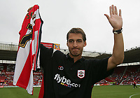 Photo: Lee Earle.<br /> Southampton v Panathinaikos. Pre Season Friendly. 29/07/2006. Southampton's latest signing Rudi Skacel.