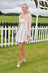 EKATERINA FIELDS at the Cartier Queen's Cup Final polo held at Guards Polo Club, Smith's Lawn, Windsor Great Park, Egham, Surrey on 15th June 2014.