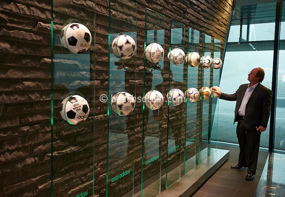 ZURICH, SWISS - JANUARY 9:  FIFA Beach Soccer Work Shop 2013 at FIFA on January 9, 2013 in Zurich, Swiss. (Photo by Manuel Queimadelos)