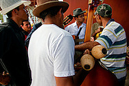 Musicians in Cueto, Holguin, Cuba.