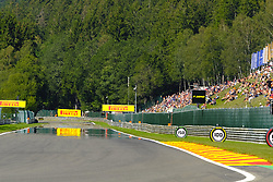 August 30, 2019, Spa Francorchamps, Belgium: Great sun on the Spa Francorchamps circuit for the second free practice session of the Formula One Grand Prix of Belgium (Credit Image: © Pierre Stevenin/ZUMA Wire)