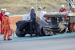 February 26, 2019 - Spain - Lando Norris (McLaren F1 Team) MCL34 car, will be for the macearen MLC34 intern 2 during the winter testing days at the Circuit de Catalunya in Montmelo  (Credit Image: © Fernando Pidal/SOPA Images via ZUMA Wire)
