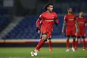 Leyton Orient midfielder Sandro Semedo (22) during the EFL Trophy Southern Group G match between U23 Brighton and Hove Albion and Leyton Orient at the American Express Community Stadium, Brighton and Hove, England on 8 November 2016.
