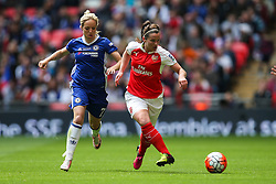 Emma Mitchell of Arsenal Ladies in action - Mandatory byline: Jason Brown/JMP - 14/05/2016 - FOOTBALL - Wembley Stadium - London, England - Arsenal Ladies v Chelsea Ladies - SSE Women's FA Cup